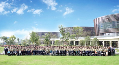 Success At Last - The Senior School Photograph is Taken