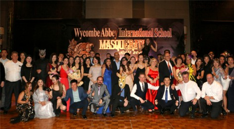 Inaugural Wycombe Abbey Masquerade Ball sponsored by Maserati 2017