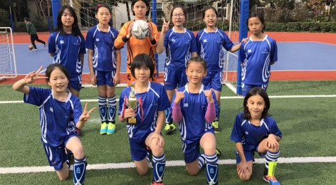 Primary Girls' Football getting better and better!