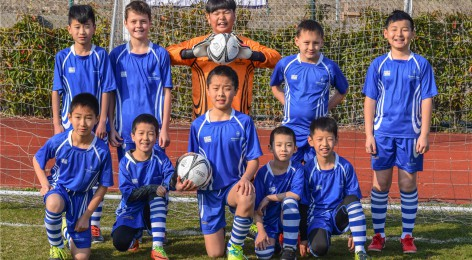Under 11's Football at WISS