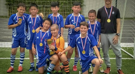 WAIS U11 Footballers are the Champions!